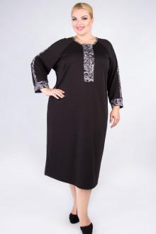 """Платье """"Артесса"""" PP53006BLK24 (Черный)"""