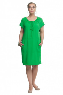 """Платье """"Олси"""" 1605043/3 ОЛСИ (Ярко-зеленый)"""