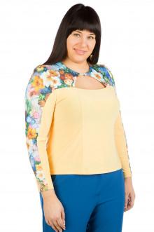 Блузка 379 Luxury Plus (Палевый)