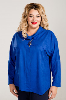 Блузка 763 Luxury Plus (Синий)