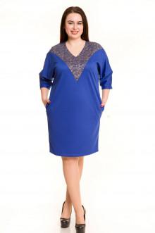 Платье 686 Luxury Plus (Синий)