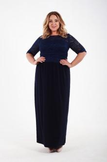 Платье 1111304 ЛаТэ (Темно-синий)