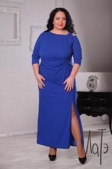 Платье 043203 ЛаТэ (Васильковый)
