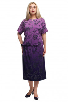 """Платье """"Олси"""" 1705039/2 ОЛСИ (Фиолетовый)"""