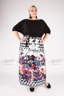 """Платье """"Артесса"""" PP20207BUT01 (Черный)"""