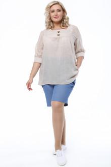 Блуза 1290-244 Грация Стиля (Капучино)